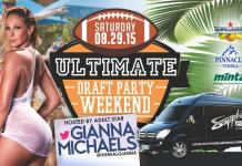 Sapphire Dayclub to host Ultimate Draft Party Weekend with Gianna Michaels August 29