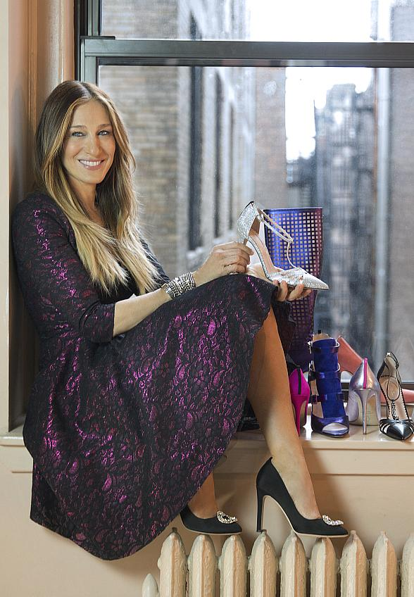 Sarah Jessica Parker Launches SJP Collection Pop-Up with Zappos Couture at The Shops at Crystals in Las Vegas