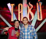Ryan Couture in DJ Booth with DJ Eric Forbes
