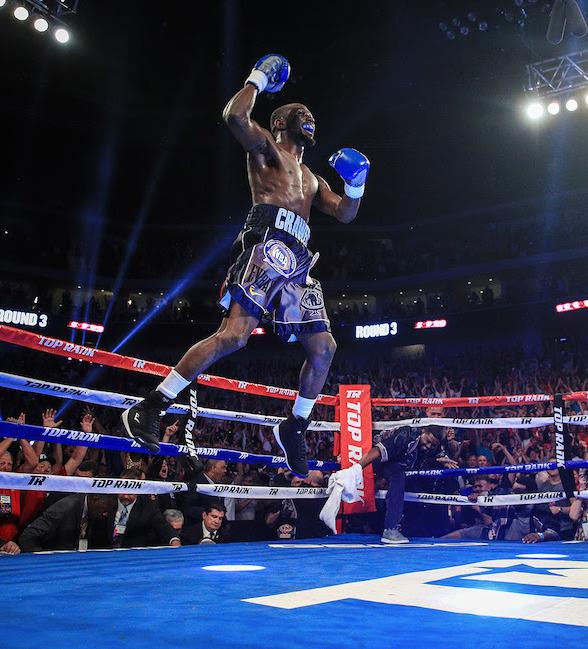 """WBO Welterweight World Champion Terence """"Bud"""" Crawford Signs New Multi-Year Agreement With Top Rank"""