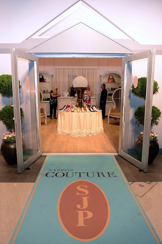 Sarah Jessica Parker Previews Her Two-Day-Only SJP Collection Pop-Up Boutique at The Shops at Crystals in Las Vegas