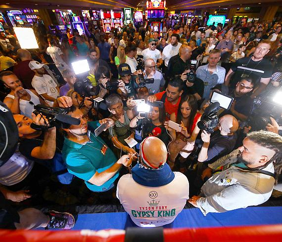 Media Workout: Tyson Fury & Otto Wallin Kick Off Mexican Independence Day Weekend Card in Style