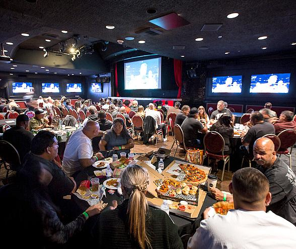Vegas Golden Knights Home Opener Viewing Party at the Plaza Hotel & Casino Oct. 2, 2019