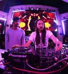 Michael Phelps and Steve Aoki at XS