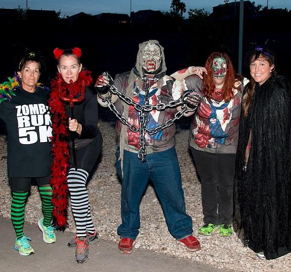 """Zombies to Invade Henderson on Oct. 20; """"Zombie Run 5K"""" Participants Encouraged to Run in Costume"""