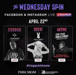 """World-Renowned DJ Aktive Headlines """"The Wednesday Spin"""" Presented by Park MGM April 22"""