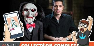 Video: Official SAW Escape Room's Jason Egan Talks His Horrific Collection on 'Collection Complete'