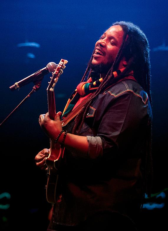 "Stephen ""Ragga"" Marley performs ""The Fruit of Life Summer Tour"" at Brooklyn Bowl Las Vegas"