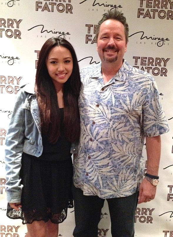 Season 10 American Idol's Thia Megia Spotted at Terry Fator's Voice of Entertainment Show