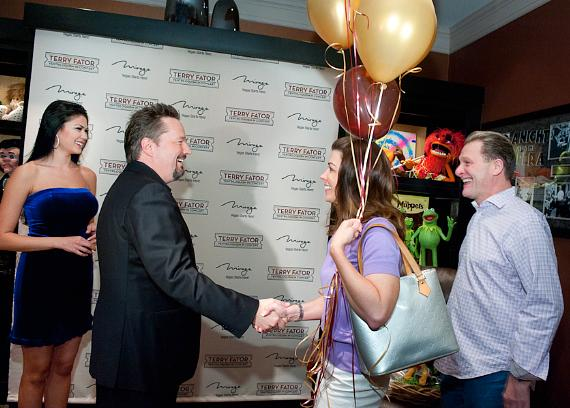 Mirage headliner Terry Fator greets 500,000th guest at