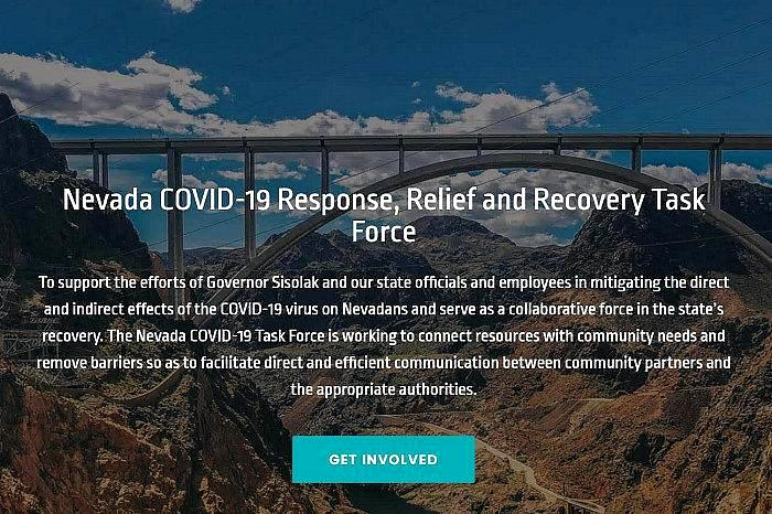 Nevada COVID-19 Response, Relief and Recovery Task Force Creates COVID-19 Emergency Response Fund Administered by the Nevada Community Foundation