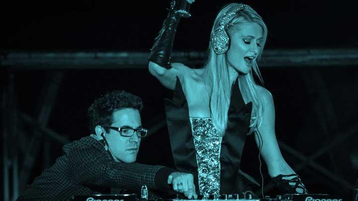 Paris Hilton Top DJs