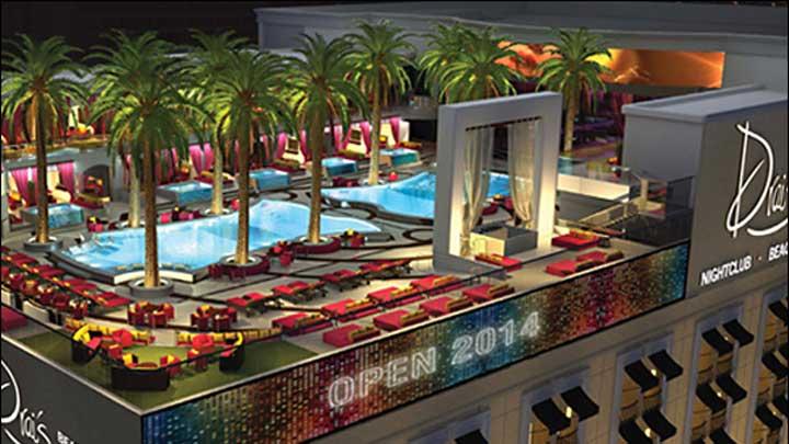 Drais Beach Club Las Vegas Opening Memorial Day