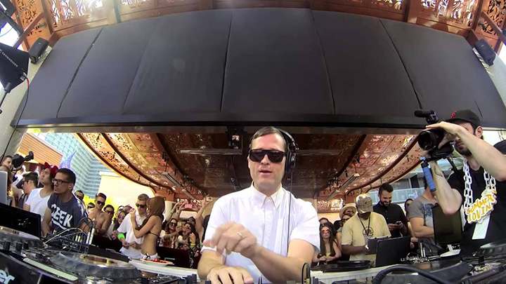 Marquee Dayclub Grand Opening Party with Kaskade