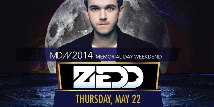 Zedd at Encore Beach Club Memorial Day