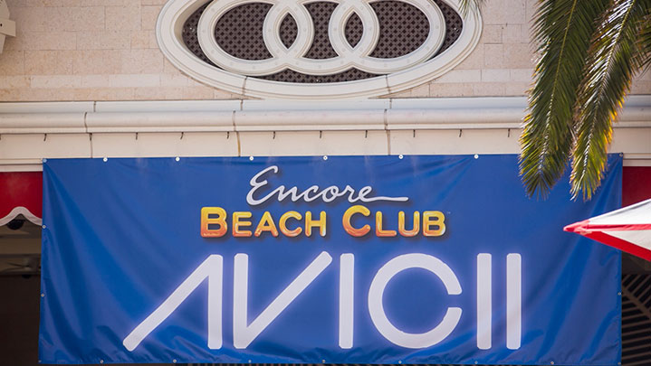 Avicii Las Vegas Encore Beach Club