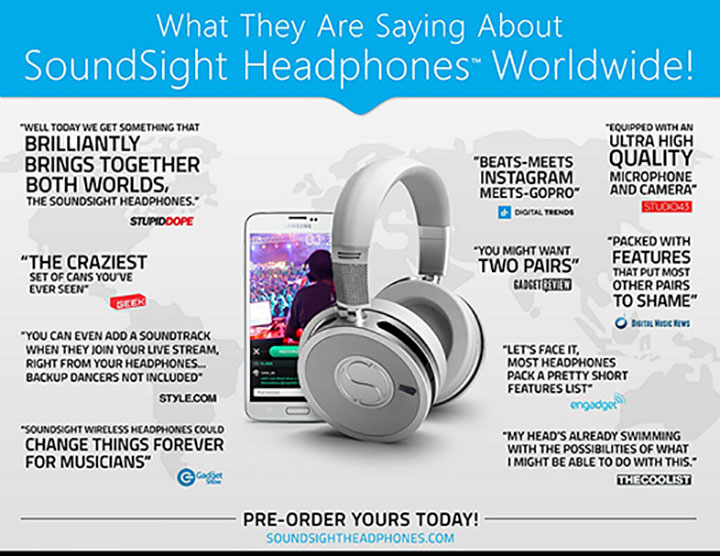 Sound Sight Headphones