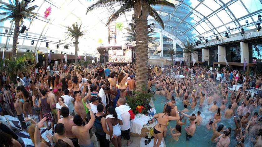 Marquee Dayclub Dome Pool Party