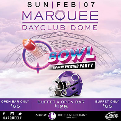 Marquee Dayclub Super Bowl Party