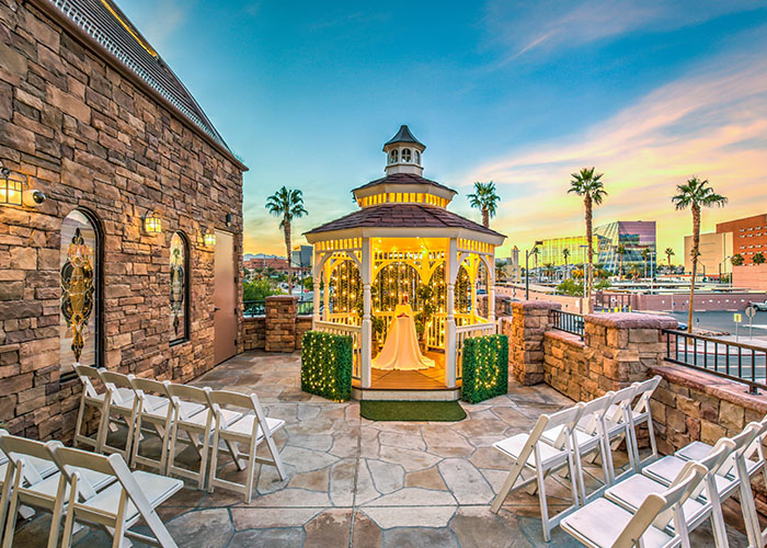 Vegas Weddings Terrace Gazebo