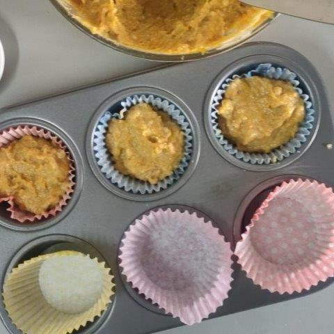 refined sugar-free pumpkin muffins without egg