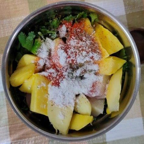 Dhaniya Ambi chutney recipe
