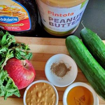 Ingredients for the salad