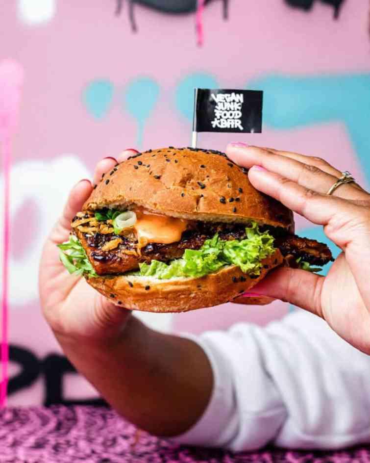 Heppi Ribs at Vegan Junk Food Bar