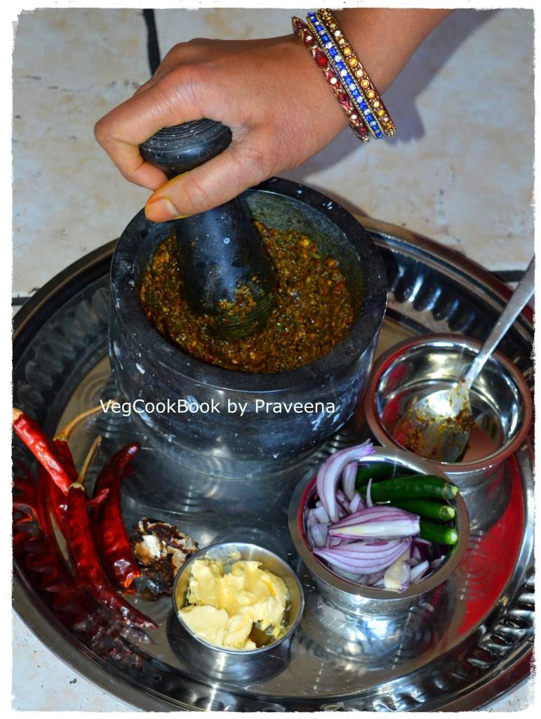 Gongura Chutney / Sorrel Leaves / Gongura Pachadi (Andhra style)