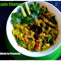 Avocado Chutney (South Indian style)