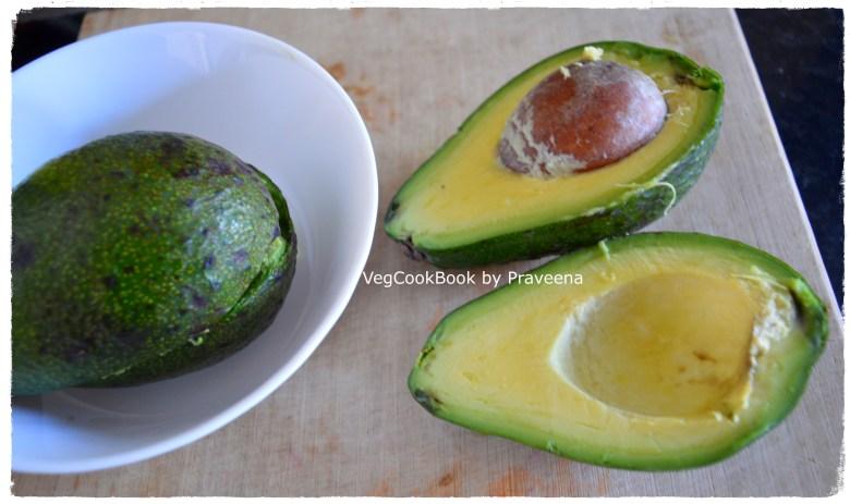 avocado chutney (south indian style)
