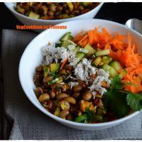 Black-eyed Beans Salad / Alasanda Guggillu