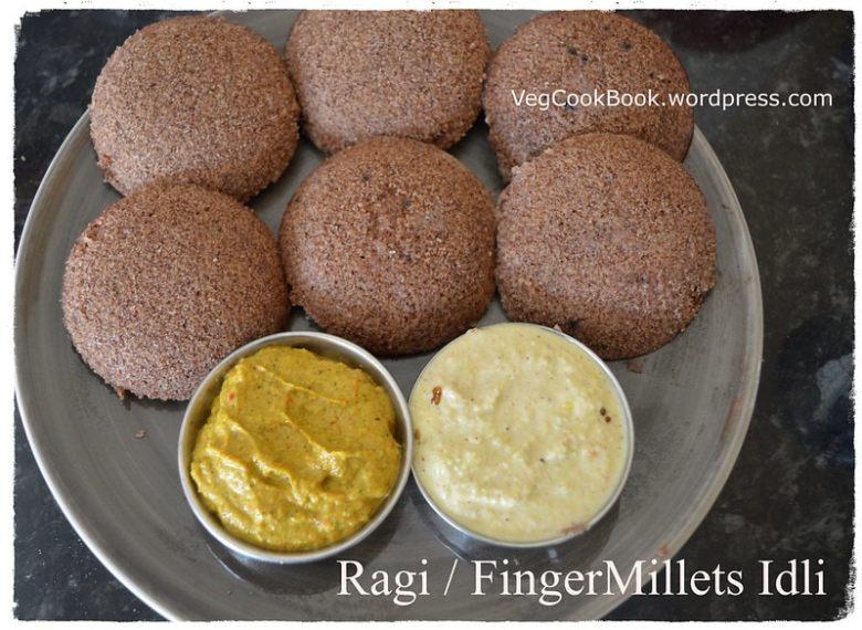 ragi / bhakri / finger millets idli in Instant pot / stove top