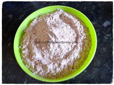 ragi / Millet flour before roast