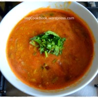Pappu Pulusu / Indian Spicy Lentil Soup