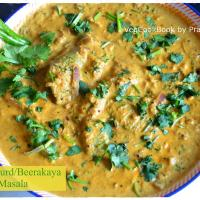 Beerakaya Masala Koora/ Turai / RidgeGourd Masala Curry
