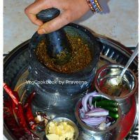 Gongura Pachadi / Sorrel Leaves Chutney (Andhra style)