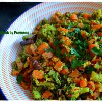 Broccoli - Carrot Stir Fry