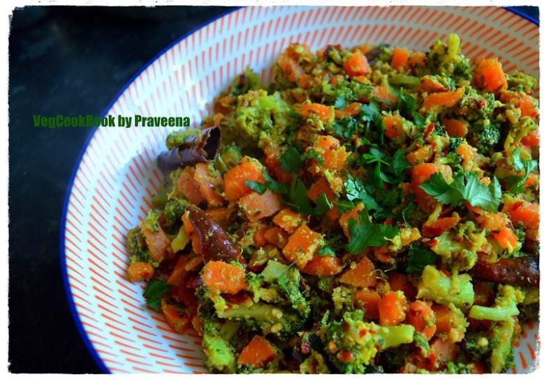 broccoli carrot stir fry