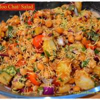 Chana-Aloo Chat / Chickpeas-Potato Salad