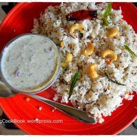 Kobbari Annam / Coconut Rice