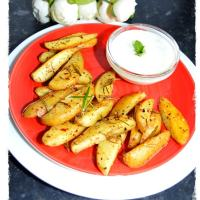 Potato Wedges - Rosemary (Air-Fryer & Oven)