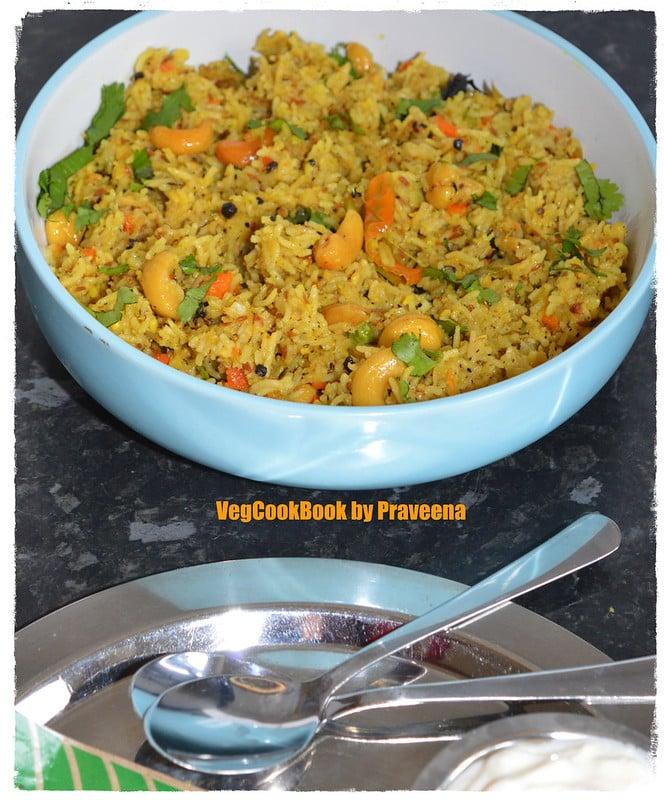 pulagam / one pot veg rice with lentils