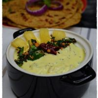 Pineapple Perugu Pachadi / Yogurt Chutney