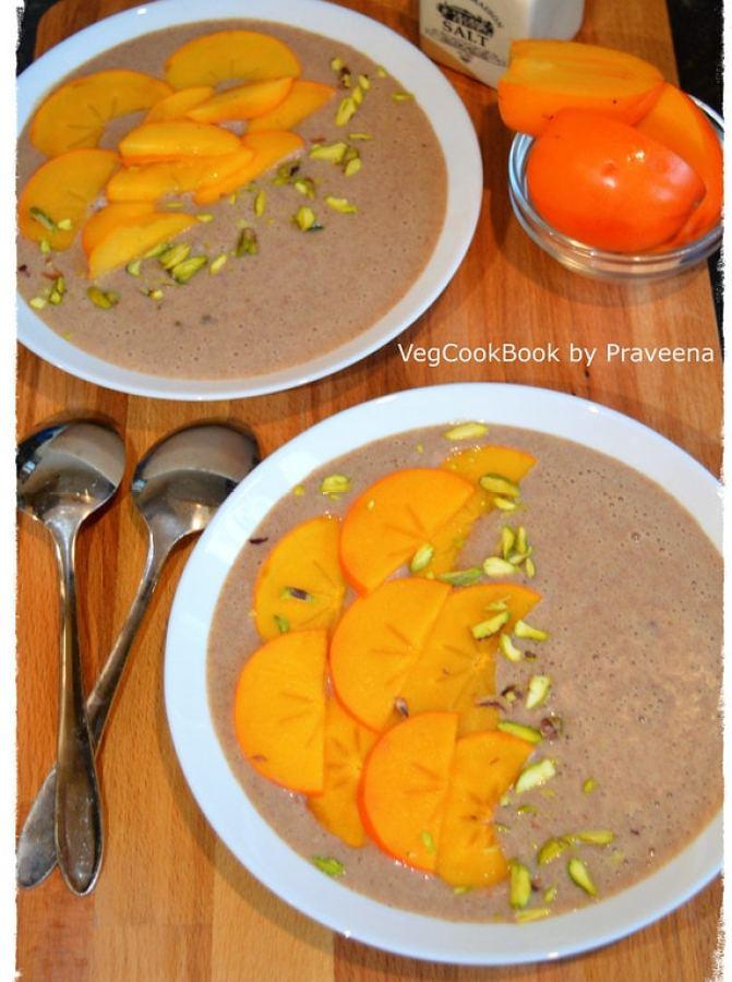 Ragi Porridge (Hot / Cold Breakfast)