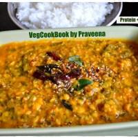 Mamidikaya-Palakoora Pappu / RawMango-Spinach Dal / Lentil Stew