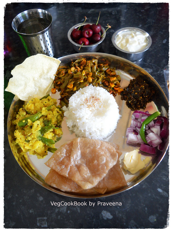 bhojanam / thali / platter # 12