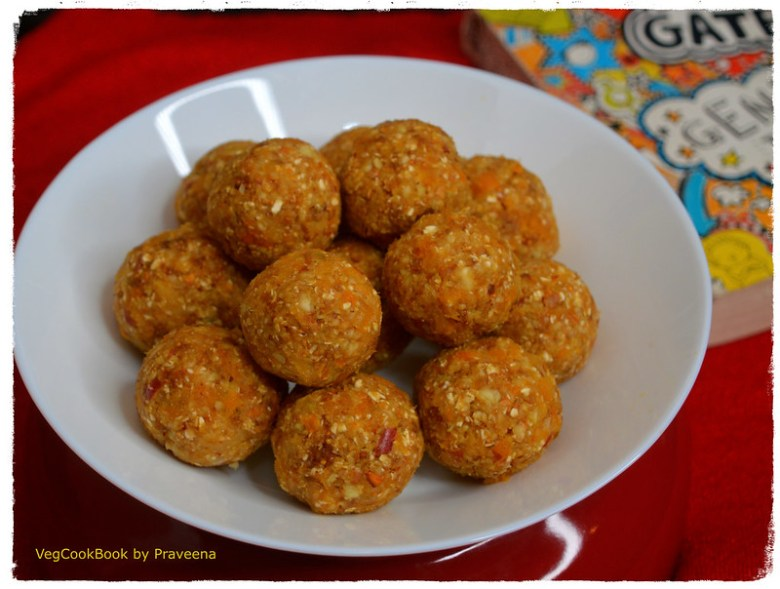 vitamin C rich dry apricot energy balls