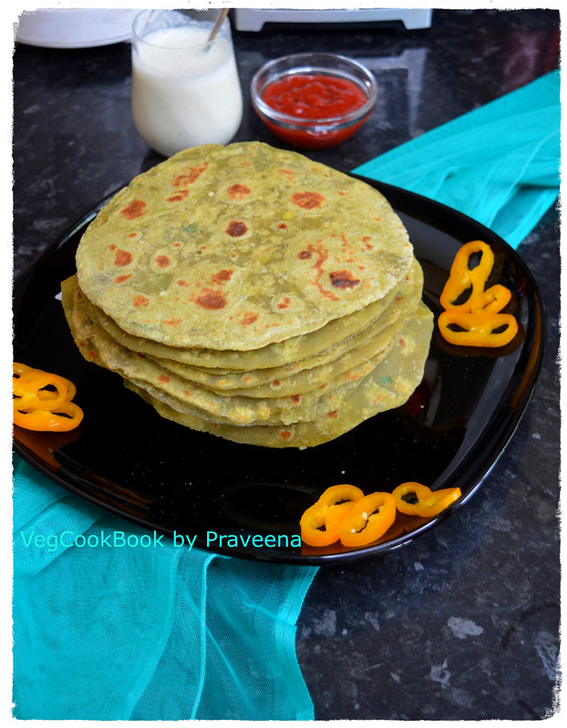 Avocado Roti / Tortilla (Whole Wheat)