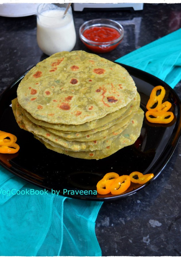 Avocado Roti / Tortilla (Whole Wheat)